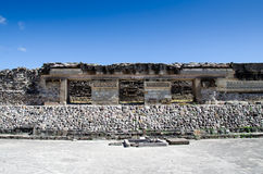 Mitla archaeological site Royalty Free Stock Photography