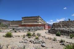 Mitla, Oaxaca, Mexico stock afbeeldingen