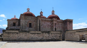Mitla, Oaxaca, Mexique Photos libres de droits