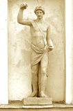 Mitología del griego clásico de la escultura. Durante 75 años fotografía de archivo libre de regalías