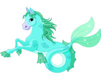 Mitologiczny denny koń Fotografia Royalty Free