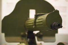 Mitragliatrice - arma russa, arma automatica fotografia stock