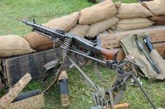 Mitragliatrice MG 42 Fotografia Stock