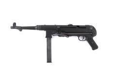 Mitraillette MP40 allemande - ère de la deuxième guerre mondiale Image libre de droits