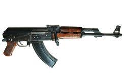 Mitrailleuse d'Ak-47 Photo libre de droits