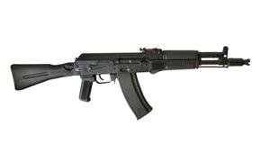 Mitrailleuse de la kalachnikov AK-105 Photographie stock libre de droits