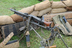 Mitrailleuse MG 42 Photographie stock