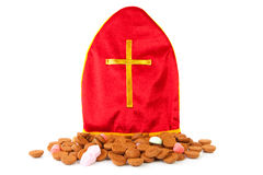 Mitre als know as mijter of Sinterklaas Royalty Free Stock Photography