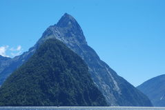 Mitre peak Stock Images