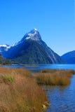 Mitre Peak Foreshore Royalty Free Stock Image