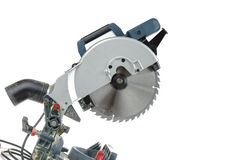 Mitre saw isolated Stock Images