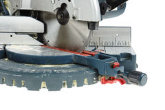 Mitre saw isolated Royalty Free Stock Photos