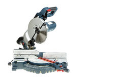 Mitre saw isolated Royalty Free Stock Photography