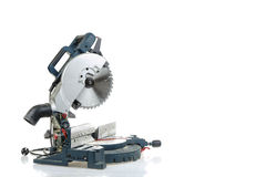 Mitre saw isolated Stock Image