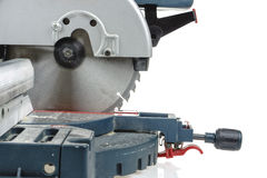 Mitre saw isolated Stock Photography