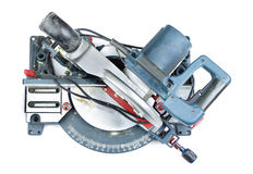 Mitre saw isolated Royalty Free Stock Image