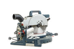 Mitre saw isolated Stock Photos