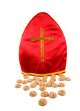 Mitre of Sinterklaas Stock Photo