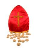Mitre of Sinterklaas Stock Photo