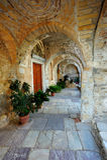 Mitropoli - Aghios Dimitrios fotografia stock libera da diritti