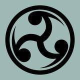 Mitsu Tomoe - Japanese Triad symbol Stock Images