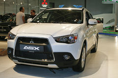 Mitsubishi ASX. At the Moscow International Automobile Salon (MIAS-2010) August 25 - September 5 Stock Images