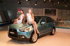 Mitsubishi ASX - russian premiere. Stock Images