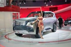Mitsubishi begrepp GC-PHEV Arkivbild