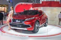 Mitsubishi begrepp XR-PHEV Royaltyfri Foto