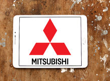 Mitsubishi car logo Royalty Free Stock Image