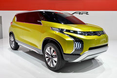 Mitsubishi Concept AR. Motor vehicle at the Geneva Motor Show in Switzerland, 2014 Royalty Free Stock Image