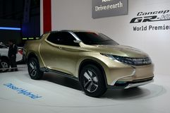Mitsubishi Concept GR HEV Geneva 2014 Stock Images