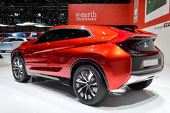Mitsubishi Concept XR-PHEV. Vehicle pictured at the Geneva motor show in Switzerland, 2014 Stock Photo