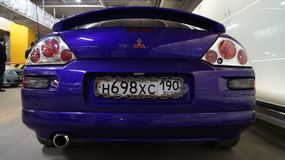 Mitsubishi Eclipse 2 fast 2 furious Stock Photo