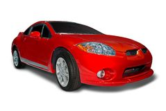 Mitsubishi Eclipse Sports Car Stock Images