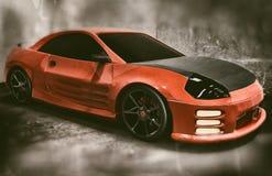 Mitsubishi Eclipse Vintage Style Royalty Free Stock Image