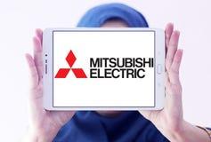 Mitsubishi Electric company logo Royalty Free Stock Image