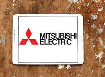Mitsubishi Electric company logo Stock Images