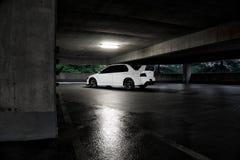 Mitsubishi Evo Royaltyfria Foton