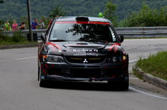 Mitsubishi Evo Fotografia de Stock