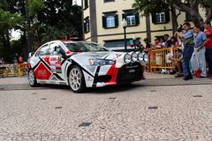 Mitsubishi Evo Rally car Stock Images