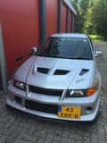 Mitsubishi-evolutie Royalty-vrije Stock Foto's