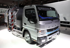 Mitsubishi Fuso EcoHybrid Duonic Royalty Free Stock Photos