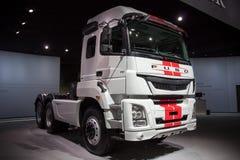 Mitsubishi Fuso TV ciężarówka Zdjęcie Stock