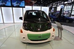 Mitsubishi innovativ electric vihicle. Chicago auto show February 2011 Royalty Free Stock Images