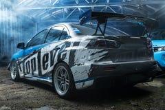 Mitsubishi Lancer-Evolutie X die stemmen Royalty-vrije Stock Afbeelding