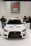 Mitsubishi Lancer Evolution 2011 - Geneva 2011 royalty free stock photo