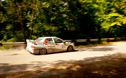 Mitsubishi lancer evolution Stock Photography