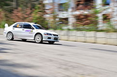 Mitsubishi lancer evolution 8 Royalty Free Stock Photography