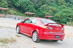 Mitsubishi Lancer 1.8 Sport Sedan Stock Photos